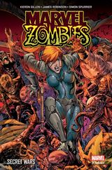 Couverture Secret Wars - Marvel Zombies (Marvel Deluxe)
