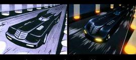 """Vidéo VIDÉO : la comparaison entre le storyboard et le générique final de """"Batman, la Série Animée"""""""