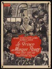 Affiche Le prince au masque rouge