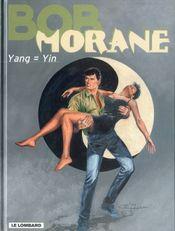 Couverture Yang = Yin - Bob Morane, tome 54