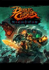 Jaquette Battle Chasers: Nightwar