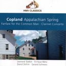 Pochette Appalachian Spring / Fanfare for the Common Man / Clarinet Concerto