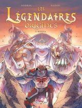 Couverture Razzia - Les Légendaires : Origines, tome 5