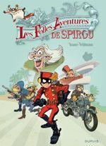 Couverture Les Folles Aventures de Spirou - Spirou et Fantasio, hors-série 5