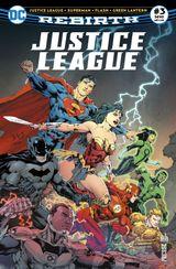 Couverture Justice League Rebirth (DC Presse), tome 3