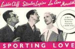 Affiche Sporting love