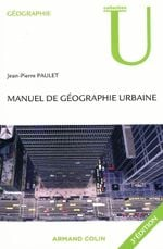 Couverture Géographie urbaine