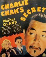 Affiche Charlie Chan's Secret