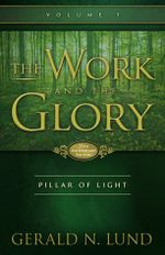Couverture Pillar of Light - The Work and the Glory, tome 1