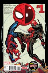Couverture Spider-Man/Deadpool (2016 - Present)