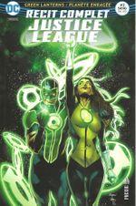 Couverture Green Lantern : Planète enragée - Récit Complet Justice League, tome 2