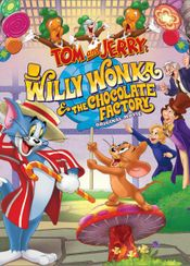 Affiche Tom and Jerry : Willy Wonka and the Chocolate Factory