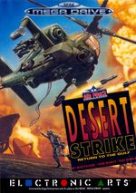 Jaquette Desert Strike : Return to the Gulf