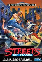 Jaquette Streets of Rage