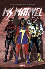 Couverture Guerre civile - Ms. Marvel, tome 5