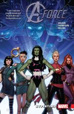 Couverture Hypertime - A-Force (2016), tome 1