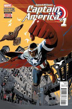 Couverture Captain America: Sam Wilson (2015 - 2017)
