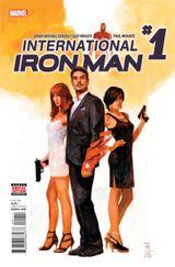 Couverture International Iron Man (2016)