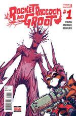 Couverture Rocket Raccoon & Groot (2015 - 2016)