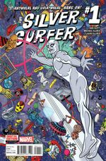 Couverture Silver Surfer (2016 - Present)
