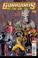 Couverture Guardians of the Galaxy (2015 - Present)