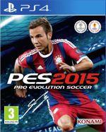 Jaquette Pro Evolution Soccer 2015
