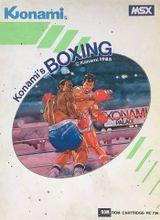 Jaquette Konami's Boxing