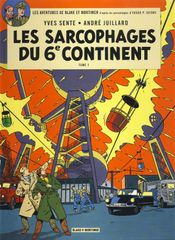 Couverture Les Sarcophages du 6e continent (1/2) - Blake et Mortimer, tome 16
