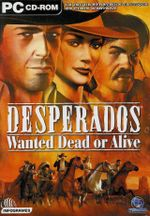Jaquette Desperados : Wanted Dead or Alive