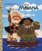 Couverture Moana (Little Golden Book)