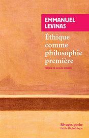 Couverture Éthique comme philosophie première