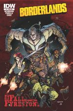 Couverture The Fall of Fyrestone - Borderlands, tome 2