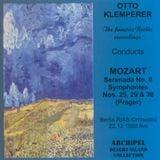Pochette Serenada No. 6, Symphonies Nos. 25, 29 & 38 (Prager) (Live)