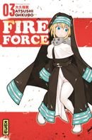 Couverture Fire Force, tome 3