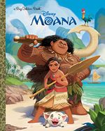 Couverture Moana (Big Golden Book)