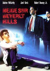 Affiche Neige sur Beverly Hills