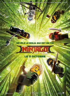 Affiche LEGO Ninjago, le film
