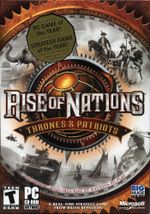 Jaquette Rise of Nations : Thrones and Patriots