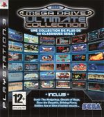 Jaquette Sega Mega Drive Ultimate Collection