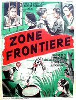 Affiche Zone frontière