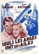 Affiche Seuls les anges ont des ailes