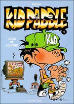 Couverture Jeux de vilains - Kid Paddle, tome 1