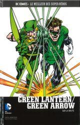 Couverture Green Lantern & Green Arrow : Sur la route - DC Comics, Le Meilleur des Super-Héros, tome 49