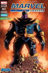 Couverture Thanos - Marvel Universe (Marvel France 5e série), tome 1
