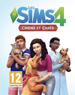 Jaquette Les Sims 4 : Chats et Chiens
