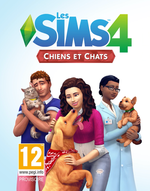 Jaquette Les Sims 4 : Chiens et Chats