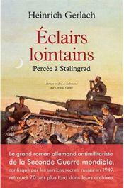 Couverture Éclairs lointains - Percée à Stalingrad