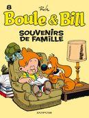 Couverture Souvenirs de famille - Boule et Bill (nouvelle édition), tome 8