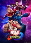 Jaquette Marvel vs. Capcom Infinite