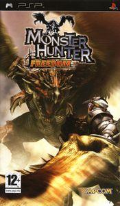 Jaquette Monster Hunter Freedom